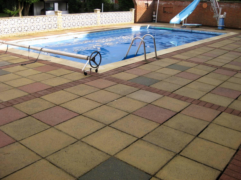 Swimming Pool Patio Pressure Washing