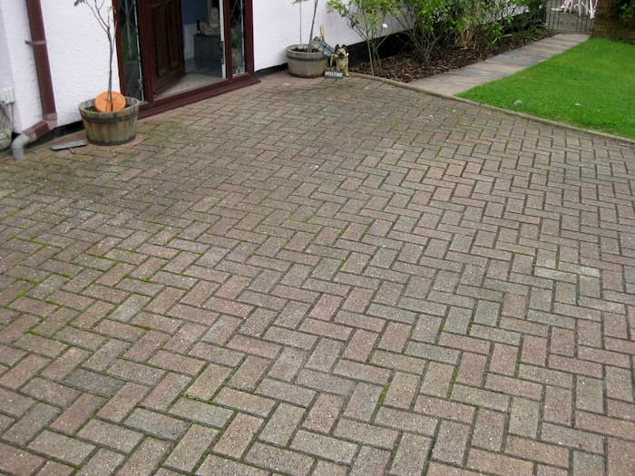 Driveway dirty before